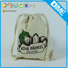 Promotional Custom Wholesales Logo Newest Cotton Drawstring Canvas Pouch Bag