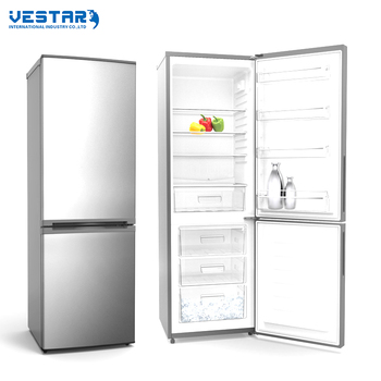 2017 hot sell double sided refrigerator 2 door fridge from factory
