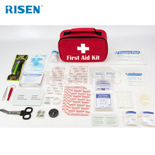 2018 mini size natural disaster complete survival kit response trauma bag medical first aid kit for earthquake tornado