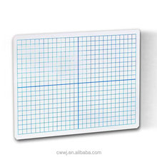 9 X 12 Inches Lined Practice Writing Dry Erase Ruled Plain Double Sided Lap Board Learning Whiteboard