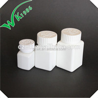HDPE plastic medical pill bottle
