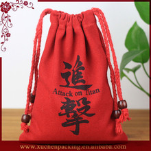 Top Selling Customized Promotional Handmade Canvas Drawstring Jewelry Pouches Exporter