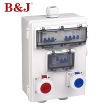 B&J Cheap Price Outdoor IP68 Waterproof Electrical Plastic Cable Junction Box