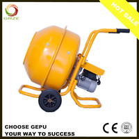 Small Portable Manual Loading On Site Industrial Electric Sand Cement Concrete Mixer Machine