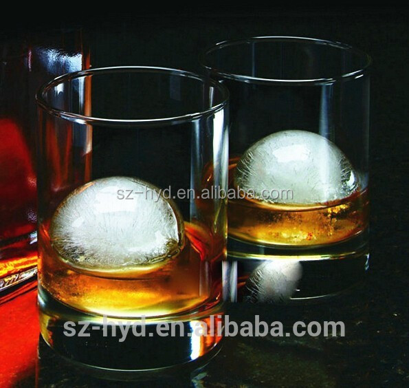 NT-WI010 BPA free silicone ball shaped ice cube tray