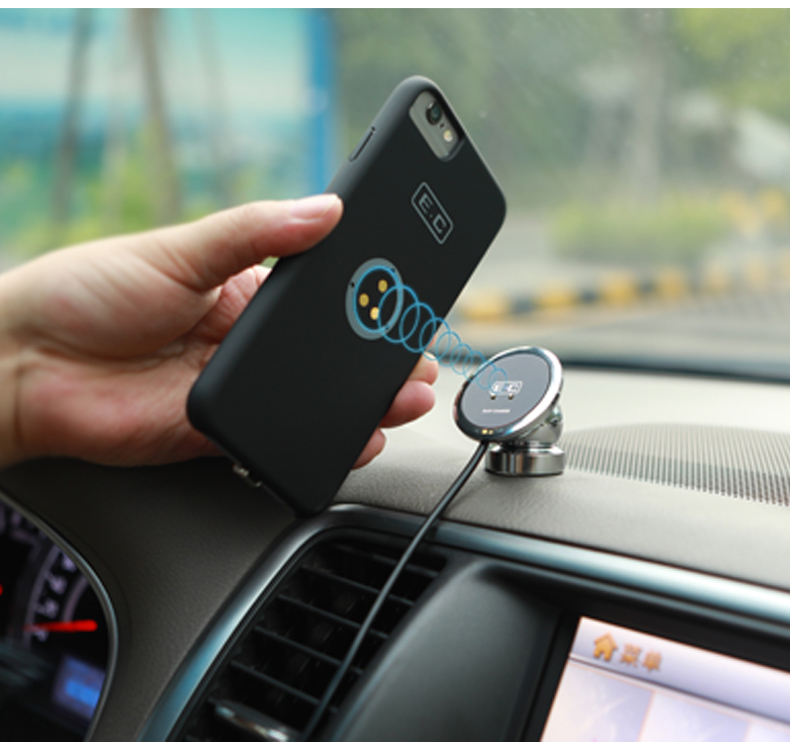 Car Wireless Charger Holder with Magnet for IOS
