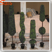 Wholesale all types of artificial plant decor artificial topiary grass ball