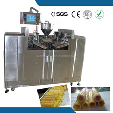 good tasty profitable small scale fragile crispy wafer rolls maker made in china