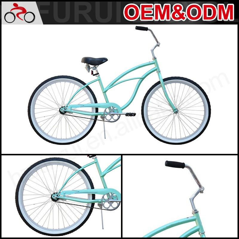 "New Fashion 26"" Steel Bicycle Beach Cruiser Lady Bike"