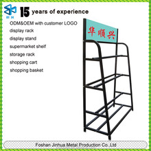 Hot new products for 2015 of metal carpet rack/rug display rack for wholesale