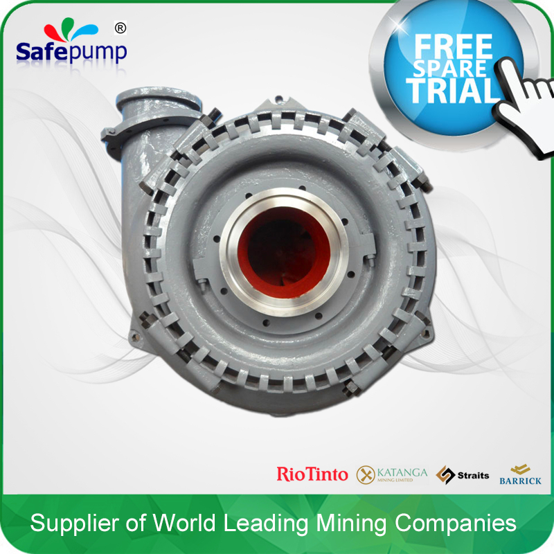 Hot selling centrifugal gold mining water pump