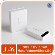 slide white paper jewelry packaging box
