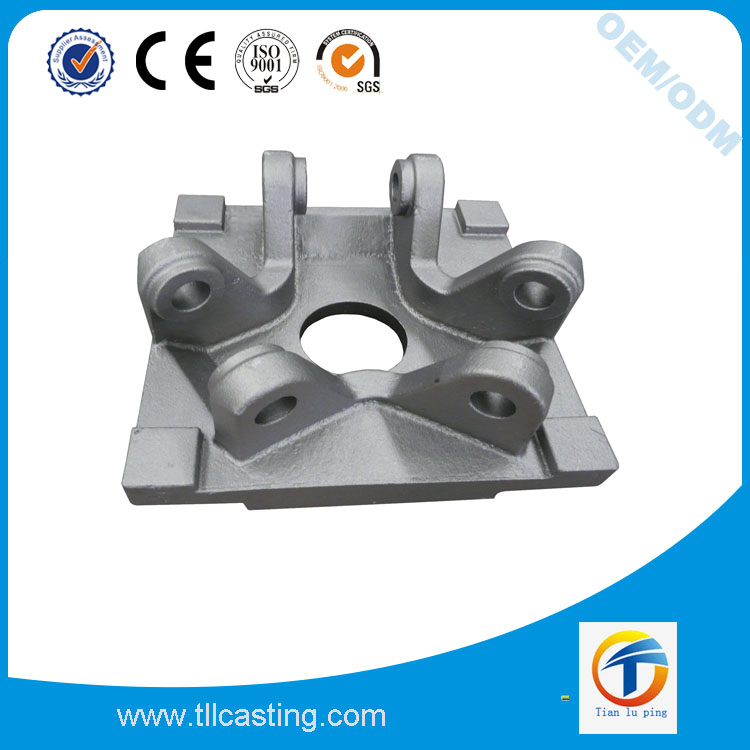 cast steel machinery part with ASTM DIN JIS