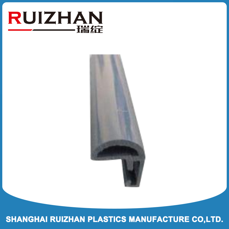 flexible plastic strip edge protector for furniture parts