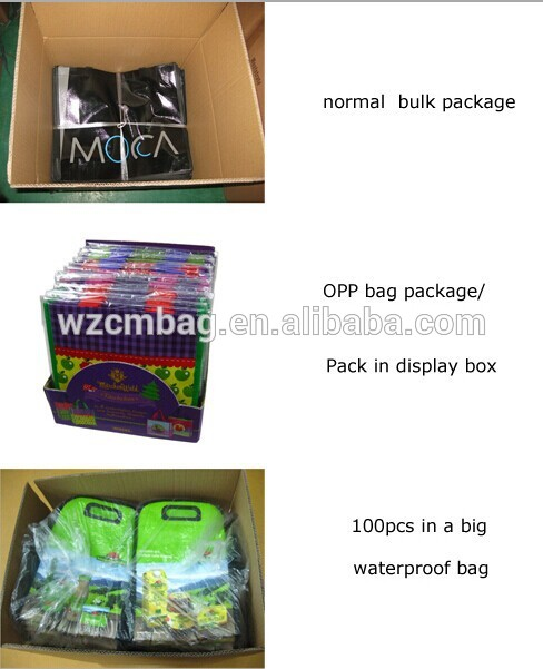 high quality pp non woven foldable Bike Bag