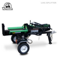 26ton 200cc HONDA trailer mounted log splitter machine