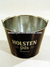 HOLSTEN BEER BOTTLE METAL ICE BUCKET
