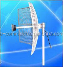 2.4G WIFI Wireless Grid Parabolic Antenna Wireless Antenna 50KM