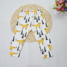 HT-PPK Boutique Soft High Quality Wholesale Baby PP Pants Breathable Baby PP Busha Pants Fashionable Baby Leggings Pattern
