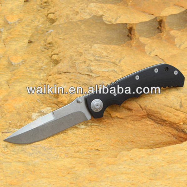 Best Foldable D2 Blade Tactical Knife With G10 Handle