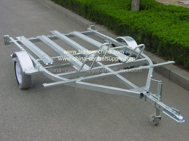 Factory Supply and Sale Folding 3.8m 3 motorcycle Trailer CT0302B