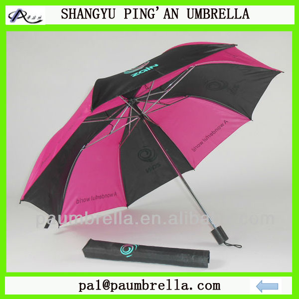 custom cheap promotion 2 folding umbrella for umbrella vending machine