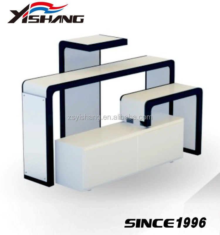 4 Tier Sweater Display Table For Shop Furniture Garment Display