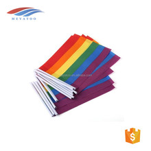 customized design outdoor indoor street festival flags very popular hand flag