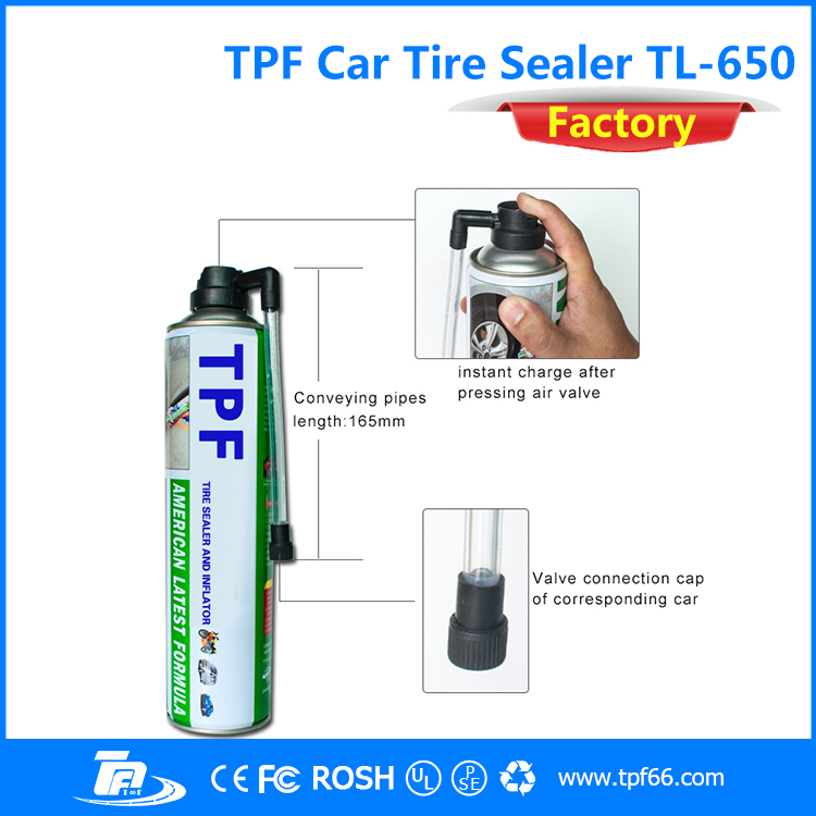 TPF multi function portable emergency car tire bead sealer and inflator