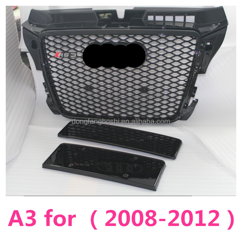 A3 Front plastic car grille for RS3 audi A3 front grille