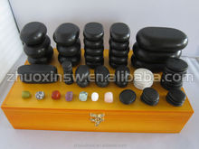 Good quality basalt massage, 60 pcs/set
