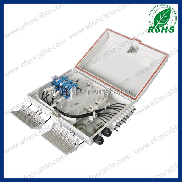 FTTH Outdoor Distribution Box Junction Box Waterproof Airproof With Gland