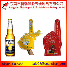 Big brand Beer Events promotion Cheering EVA foam hands/foam finger