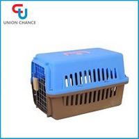 Plastic Pet Air Cage Portable Pet Cage Dog Kennel Flight Pet Cage