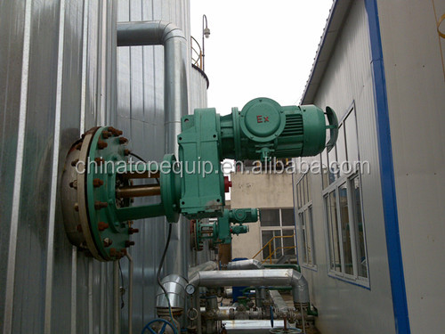Oil tank mixer for light and heavy curde oil pump station Industrial paste mixer