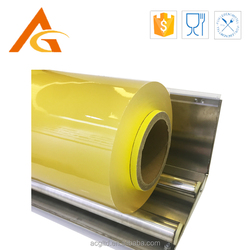 transparency plastic PVC stretch cling film for packaging jumbo roll
