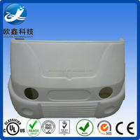 Red heat plastic auto shell,auto plastic cover
