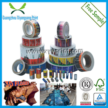 Custom private adhesive label sticker printing manufacturers on Rolls or on Piece