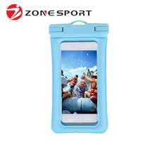 Hot Selling 0.3mm Environmental TPU sport bag waterproof pouch mobile phone bag
