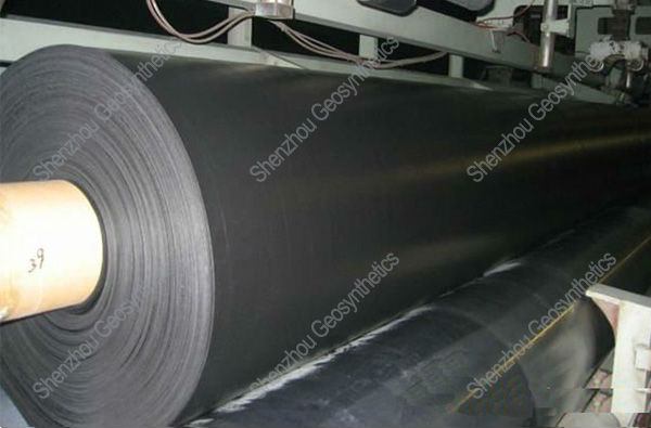 high density polyethylene hdpe geomembrane 1.5mm