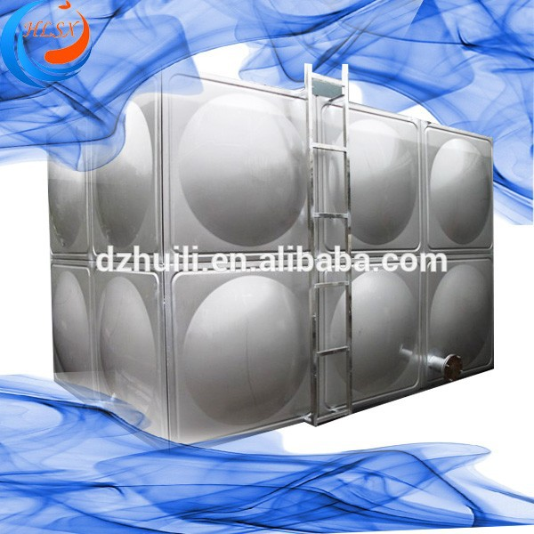 Safety & Solid Stainless Steel sectional panel Water 500 Gallon storage Tank Assured 15 Years Lifespan