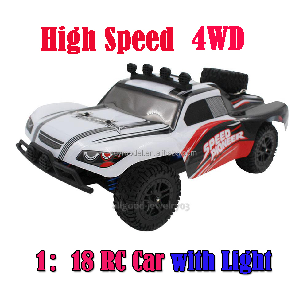 1:18 Model Car RC Rock Crawler 4WD Off-road Race Truck Toy