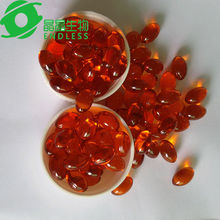 Sea buckthorn seed oil biotechnology nutritional capsules