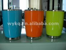 1400ml good quality/cheap stainless steel/metal/plastic colorful double walls ice bucket/wine cooler/beer tube