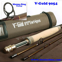 China made 4A carbon fishing fly rod