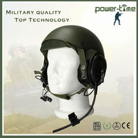 Military helmet headsets headphones high quality headset and headphone