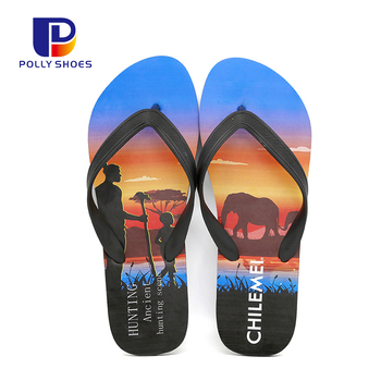 Custom Breathable Summer Beach Casual Sport Flip Flops Slipper