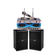 QCN brand whole set karaoke machine for karaoke system with room size less than 28Sqm