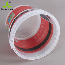 4L Printed PP Plastic Drum&Tubs for Coating, Latex Paint