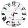 Popular and vintage Wooden Wall Clock white and black Wall Clock for hoom decoration